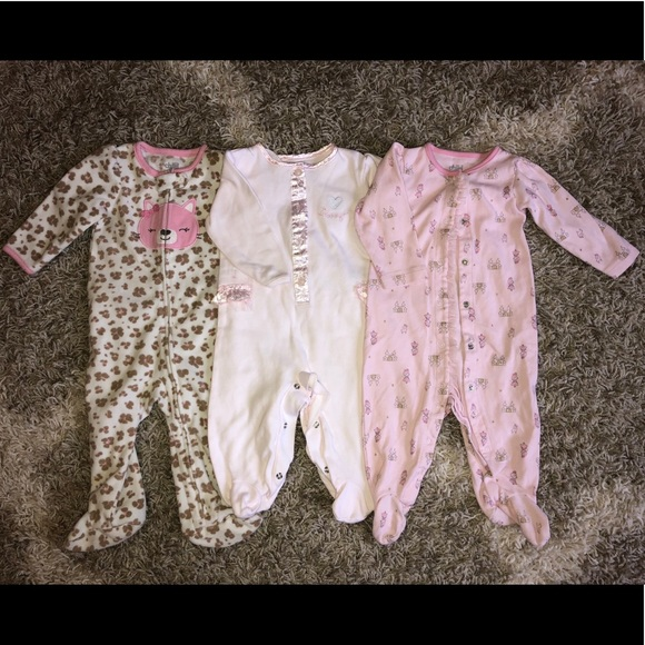 Wendy Bellissimo Other - Carters & Wendy Bellissimo Sleepers 6-9 Months Lot